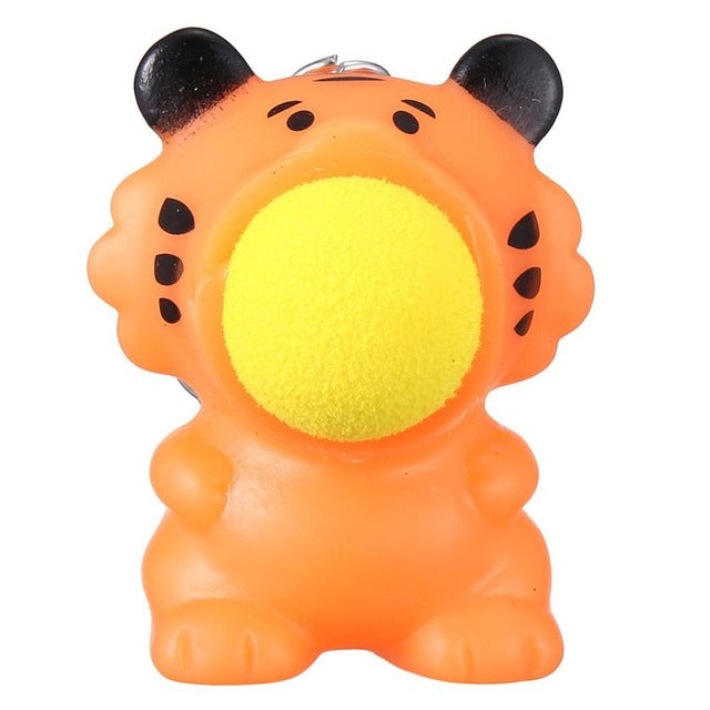 Small Ball Popper - Tiger anxiety ball - Sensory Monkey Autism ASD Aspergers Sensory Needs, ADHD Attention Deficit Disorder Spectrum Children