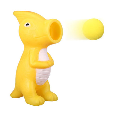 Ball Popper - Yellow Dinosaur anxiety ball - Sensory Monkey Autism ASD Aspergers Sensory Needs, ADHD Attention Deficit Disorder Spectrum Children