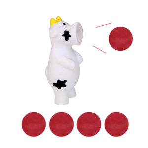 Ball Popper - Cow anxiety ball - Sensory Monkey Autism ASD Aspergers Sensory Needs, ADHD Attention Deficit Disorder Spectrum Children