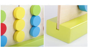 Puzzle - Colour Slider wooden - Sensory Monkey Autism ASD Aspergers Sensory Needs, ADHD Attention Deficit Disorder Spectrum Children