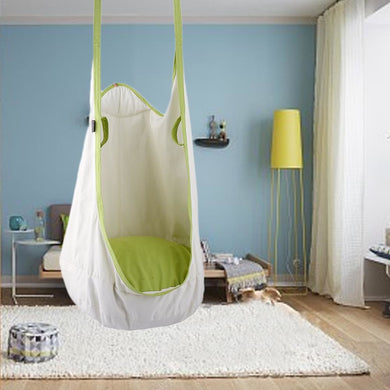 Double Hang Swing Hammock - White swing - Sensory Monkey Autism ASD Aspergers Sensory Needs, ADHD Attention Deficit Disorder Spectrum Children