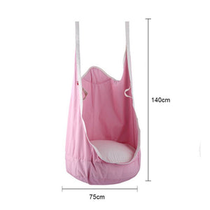 Double Hang Swing Hammock - Pink swing - Sensory Monkey Autism ASD Aspergers Sensory Needs, ADHD Attention Deficit Disorder Spectrum Children