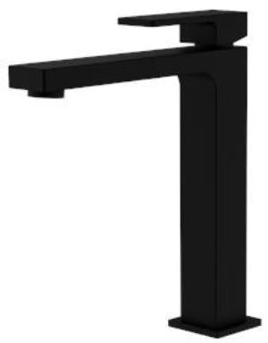 APSLEY HIGH BASIN MIXER MATTE BLACK