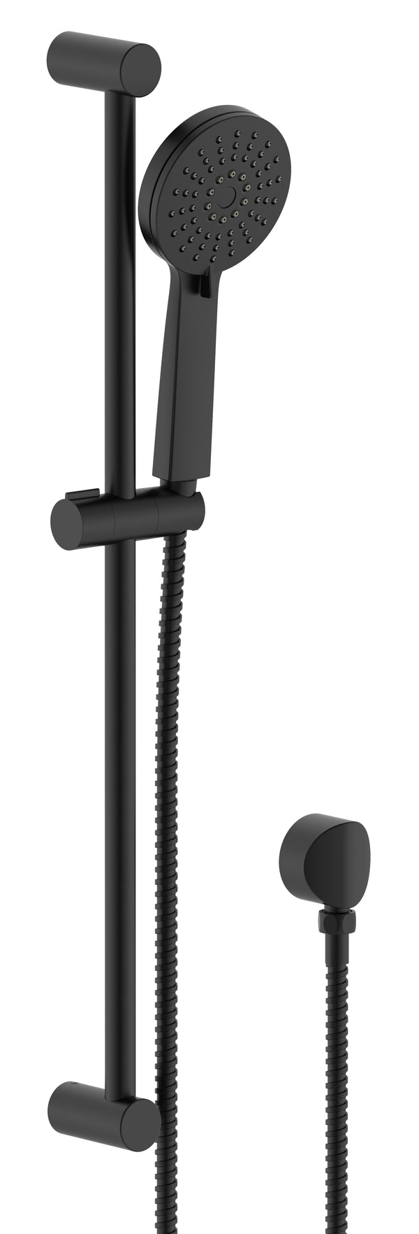 CARRINGTON SLIDING SHOWER RAIL WITH HAND SHOWER MATTE BLACK