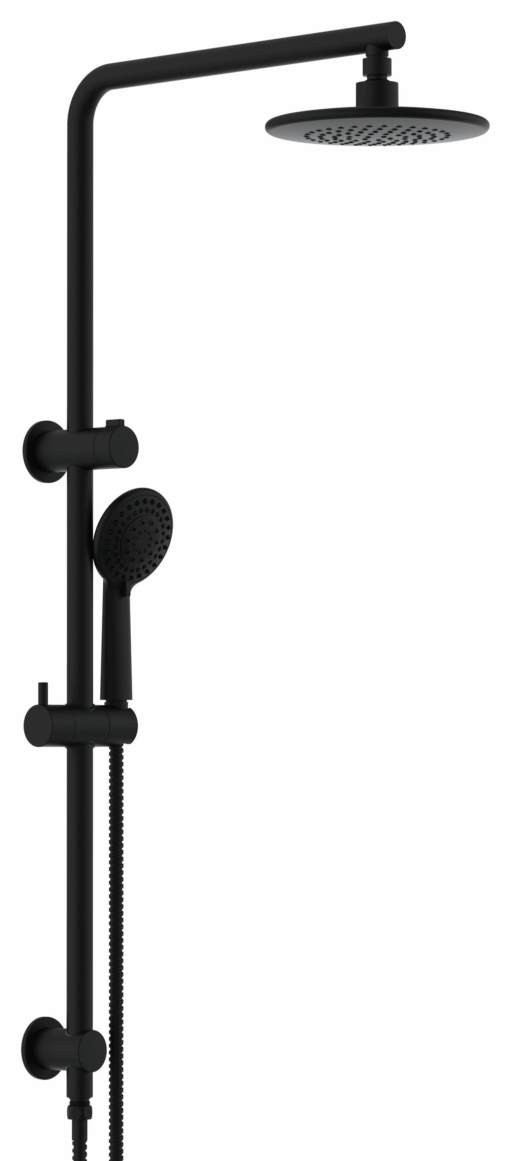 CARRINGTON SHOWER COMBO 2 IN 2 - MATTE BLACK