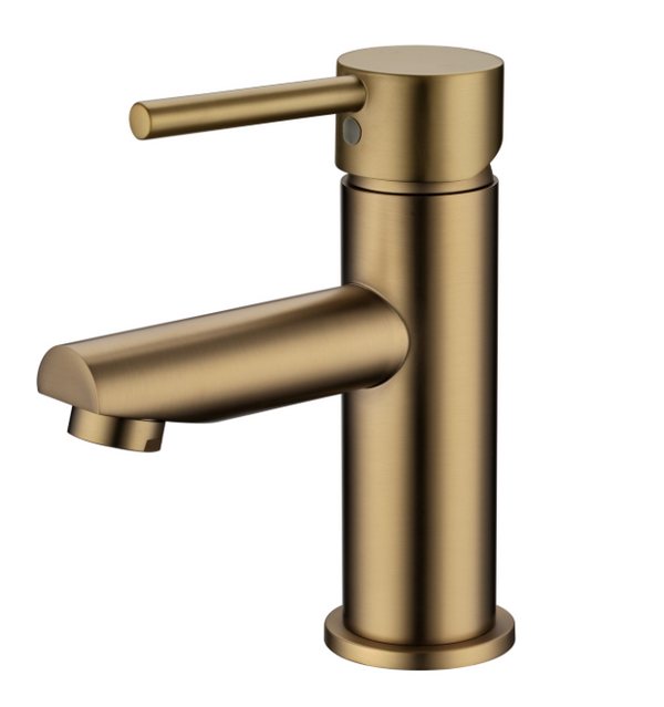 PENTRO BASIN MIXER BRUSHED YELLOW GOLD