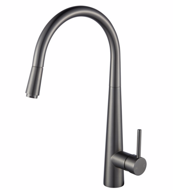 PENTRO PULL OUT KITCHEN MIXER GUN METAL GREY