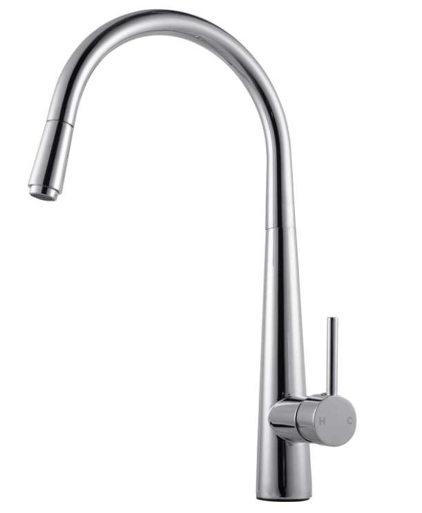 PENTRO PULL OUT KITCHEN MIXER CHROME