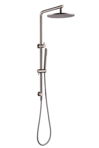 PENTRO 2 IN SHOWER WITH 250MM ROSE BRUSHED NICKEL