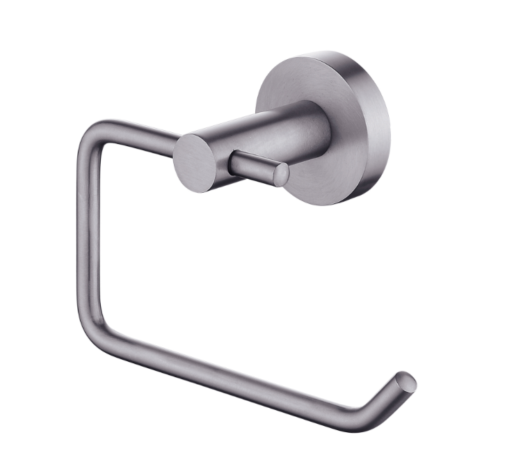 PENTRO TOILET ROLL HOLDER GUN METAL GREY