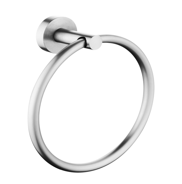 PENTRO TOWEL RING BRUSHED NICKEL