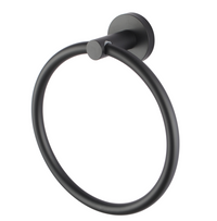 PENTRO TOWEL RING MATTE BLACK