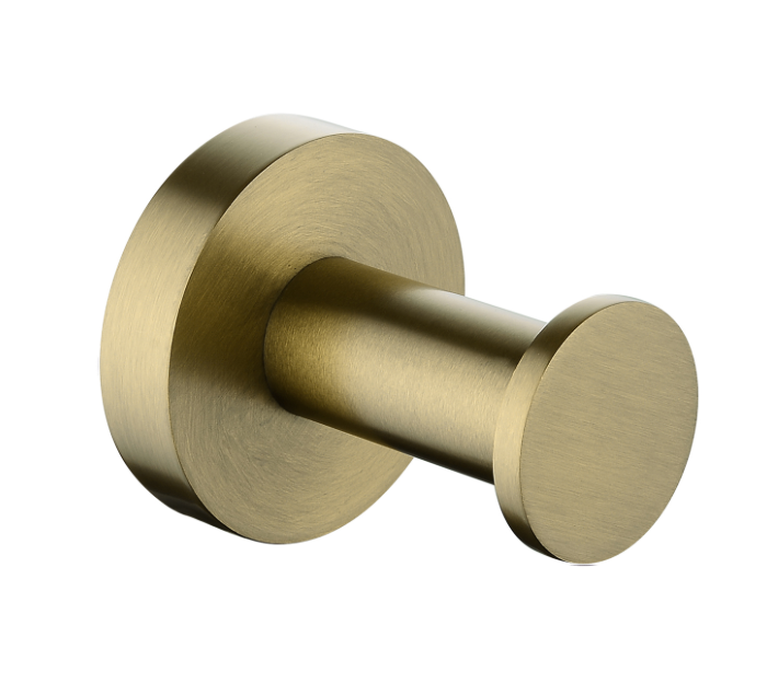 PENTRO ROBE HOOK BRUSHED YELLOW GOLD