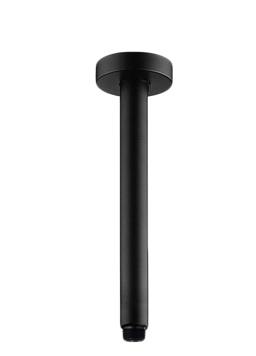 PENTRO CEILING DROPPER 200MM MATTE BLACK