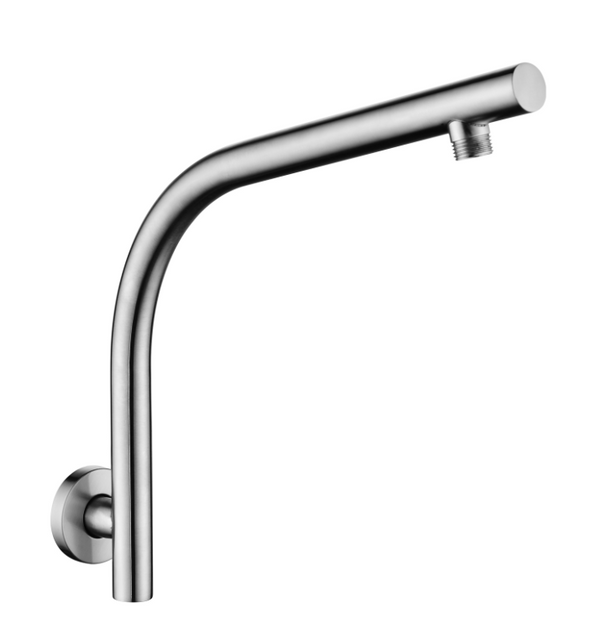 PENTRO WALL MOUNTED SHOWER ARM BRUSHED NICKEL