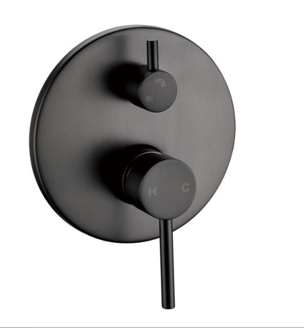 PENTRO SHOWER MIXER WITH DIVERTOR GUN METAL GREY