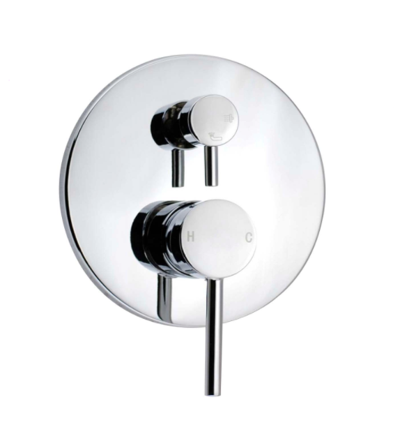 PENTRO SHOWER MIXER WITH DIVERTOR CHROME