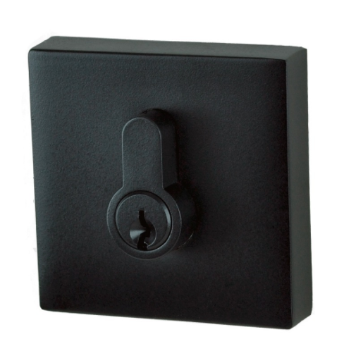LONDSALE DOOR LOCK EUROBOLT DEADBOLT DOUBLE CYLINDER SQUARE MATT BLACK