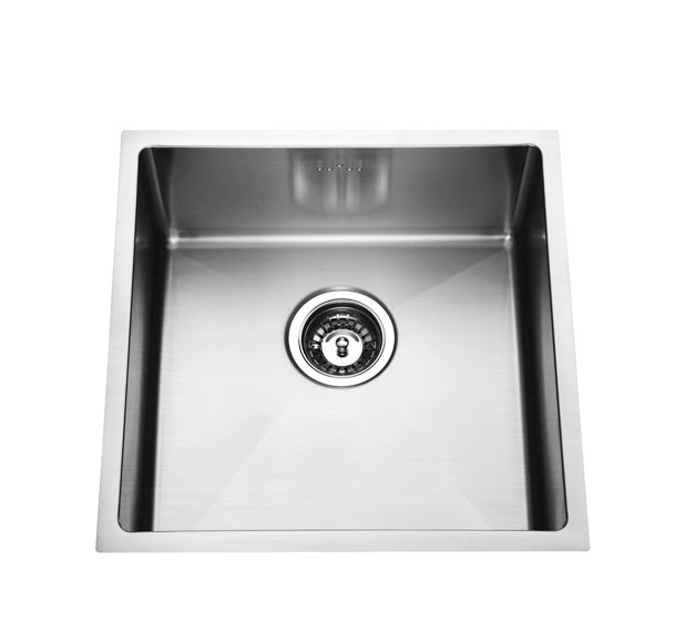 STAINLESS STEEL UNDERMOUNT SINK SINGLE BOWL 450 x 450 x 200mm (CLICK & COLLECT)(BM)