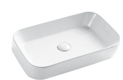 ABOVE COUNTER BASIN (BA720) WHITE 550 x 390 x 120mm