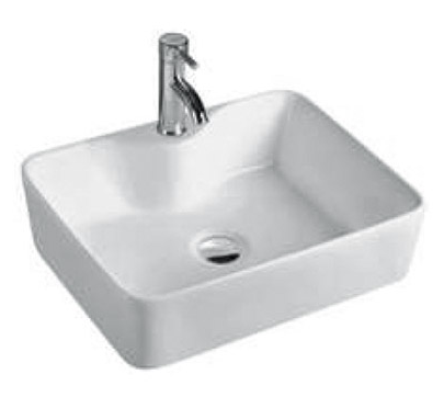 ABOVE COUNTER BASIN (BA430) WHITE 480 x 370 x 130mm