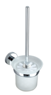 CARRINGTON WALL MOUNTED TOILET BRUSH CHROME