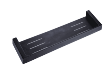 APSLEY SHOWER SHELF MATTE BLACK