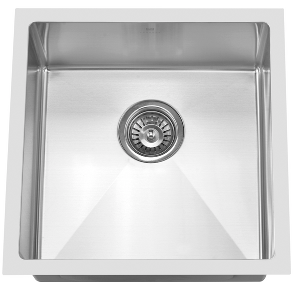 STAINLESS STEEL UNDERMOUNT SINK SINGLE BOWL (CLICK & COLLECT)