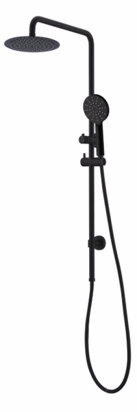CARRINGTON 2 IN 1 SHOWER COMBO WITH 200M ROSE MATTE BLACK ( PRE ORDER NOW FOR DELIVERY MID SEPTERMBER)