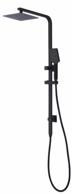 APSLEY COMBO SHOWER 2 IN 1 MATTE BLACK
