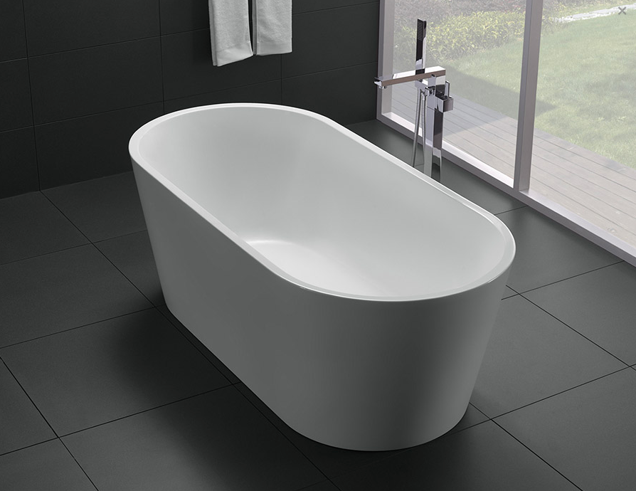 OSLO FREE STANDING BATH 1500 (CLICK & COLLECT ONLY)