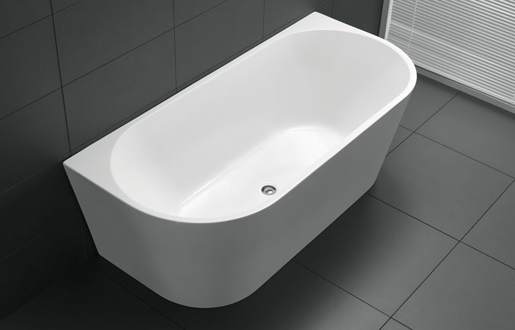 ATLANTA BACK TO WALL BATH 1700 (CLICK & COLLECT ONLY)