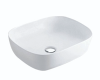 ABOVE COUNTER BASIN (BA510) WHITE 505 x 405 x 140mm