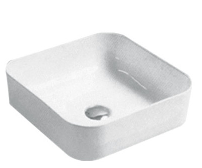 ABOVE COUNTER BASIN (BA520) WHITE 390 x 385 x 140mm