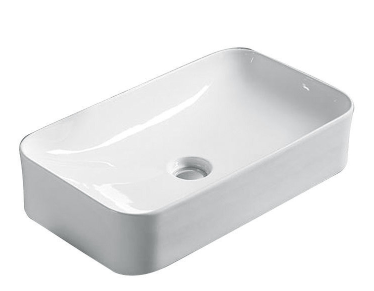ABOVE COUNTER BASIN (BA570) WHITE 610 x 355 x 140mm