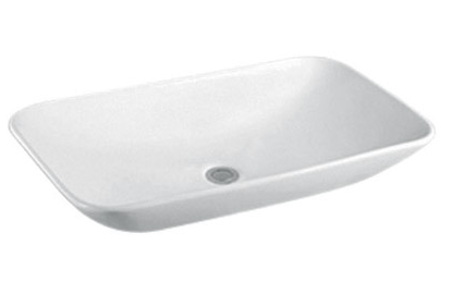 ABOVE COUNTER BASIN (BA600) WHITE 700 x 400 x 140mm