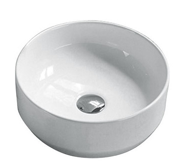 ABOVE COUNTER BASIN (BA580) WHITE 355 x 125mm