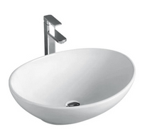 ABOVE COUNTER BASIN (BA550) WHITE 410 x 330 x 140mm