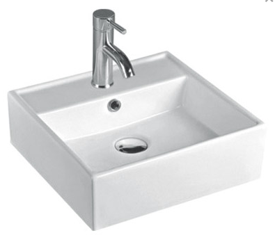ABOVE COUNTER BASIN (BA440) WHITE 440 x 410 x 150mm