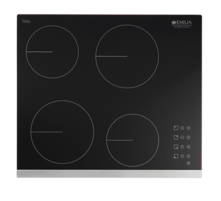 EMILIA 60cm Touch Control Ceramic Electric Cooktop