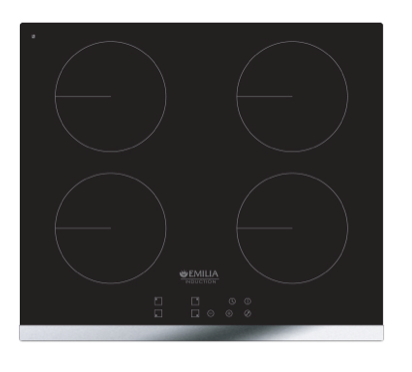 EMILIA 60cm Induction Cooktop