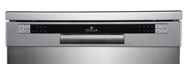 EMILIA Dishwasher S/S 12 place setting, Stainless steel water filtration