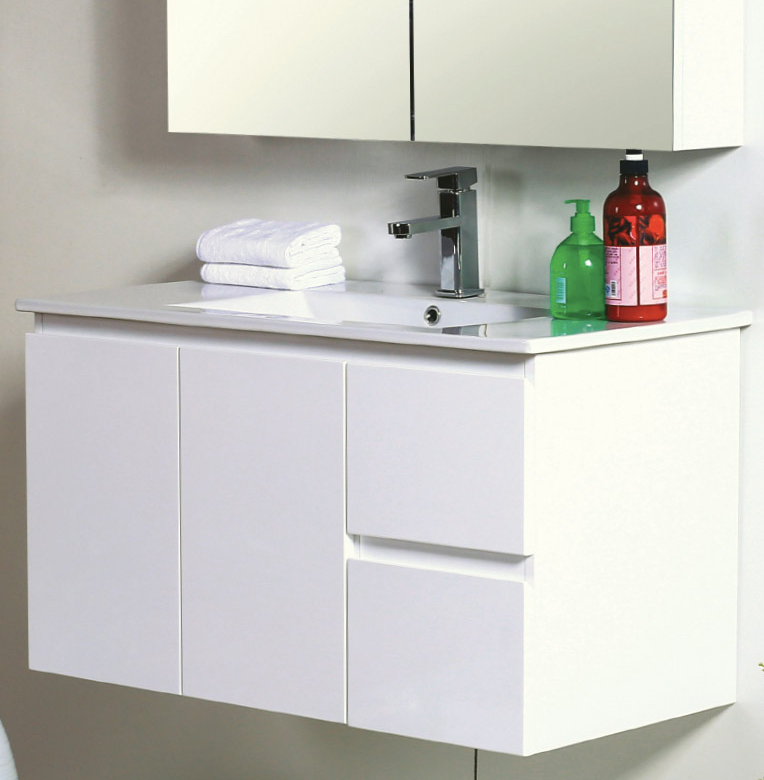 WALL HUNG 900MM VANITY
