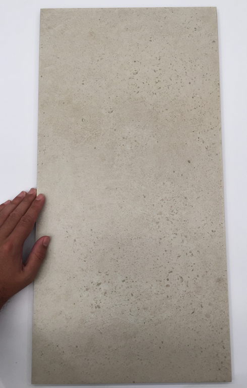 Milky Way Ivory 600mm x 300mm $65 per sqm Matte Porcelain Tile