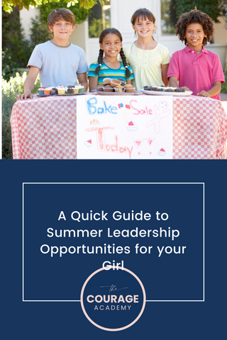 Summer activities that foster leadership in young girls