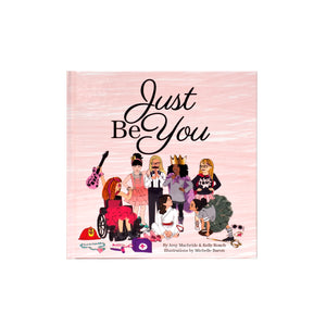 Just Be You Gift Set - with Backpack Keychain