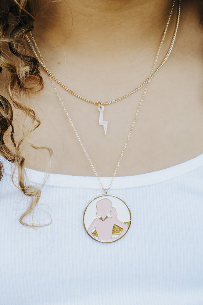 SuperGirl Necklace