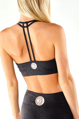 Womens Hustle with Confidence Sports Bra