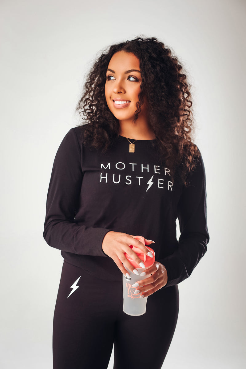 Mother Hustler Long Sleeve Top