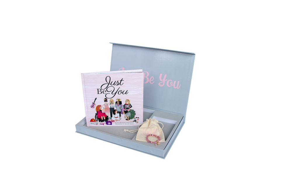 Just Be You Gift Set - with Pink Opal Circle of Courage Bracelet